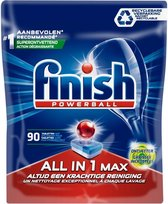 Finish Vaatwastabletten - All in One max 90 st - grease fighter - ontvetter