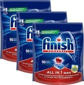 Finish All In 1 Max Ontvetter Vaatwastabletten- 270 Tabletten Voordeelverpakking