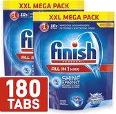 Finish All in 1 Max Vaatwastabletten XXL Mega Pack 180 Tabs