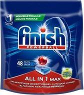 Finish All in 1 Max Ontvetter - 48 vaatwastabletten