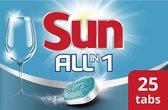 Sun All-in-1 Vaatwastabletten Classic - 25 stuks - Afwasmiddel