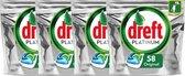 Dreft Platinum Regular - Megabox 4x58 Stuks - vaatwastabletten